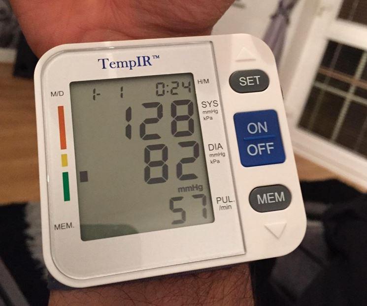 Misurazione dei valori della pressione
