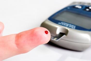 Misurazione della glicemia a casa