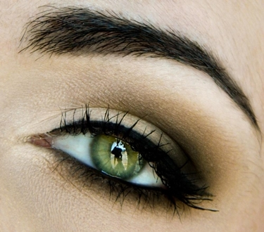occhi verdi trucco