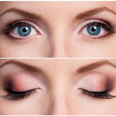 truccare occhi azzurri